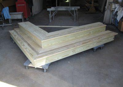 Corner Step Construction