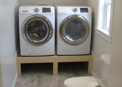 Custom Bathroom with Laundry
